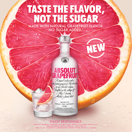 Absolut grapefruit new keyvisual